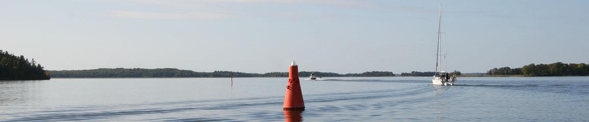 Segelbåt på Mälaren. Foto: Christina Wallnér