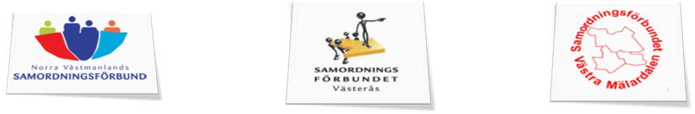Förbunden i länets logos